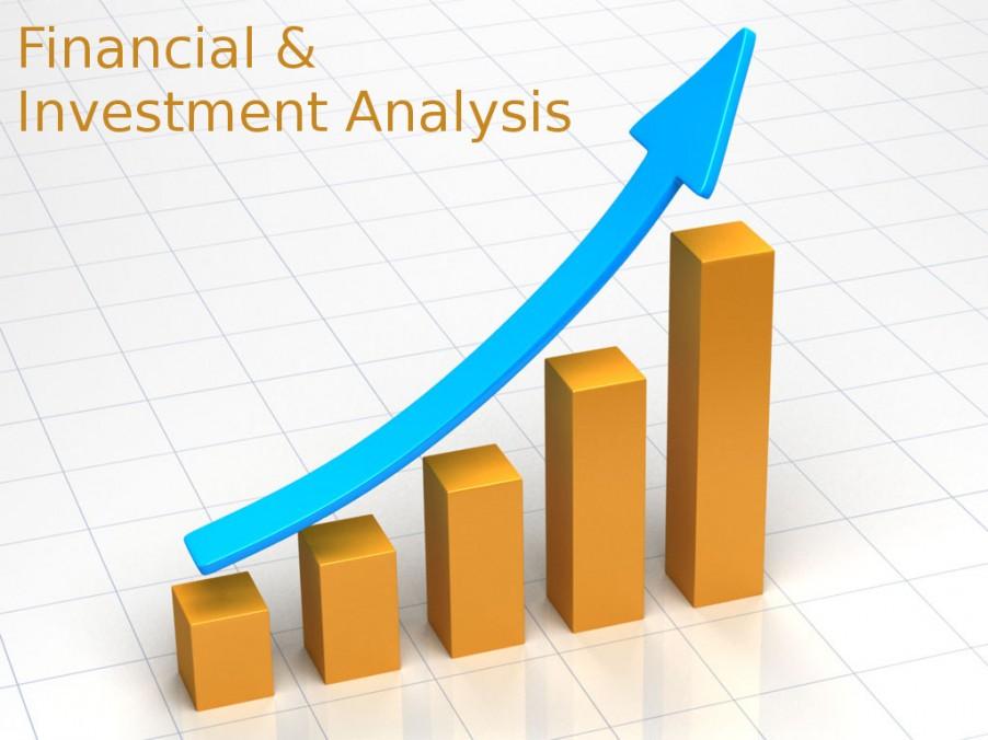 تجزیه و تحلیل سرمایه گذاری